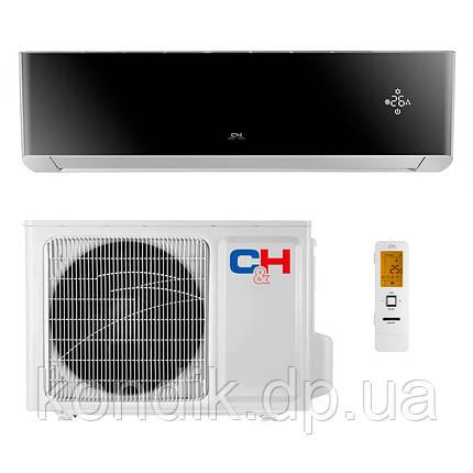 Кондиционер Cooper&Hunter SUPREME (Black) CH-S18FTXAM2S-BL Wi-Fi инвертор, фото 2