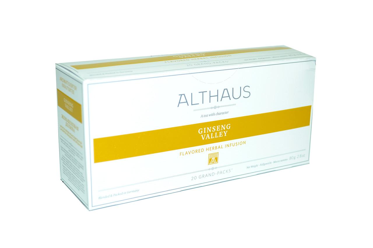 Чай Althaus Grand Packs Ginseng Valley 20x4g(10)