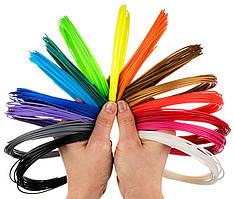 Набор АВS пластика для 3D ручки (15 цветов) по 10 м.