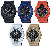Часы CASIO G-Shock GA 100,касио часы,джи шок часы,разные цвета касио, фото 1