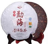 Китайский черный чай - шу пуэр, 357 г