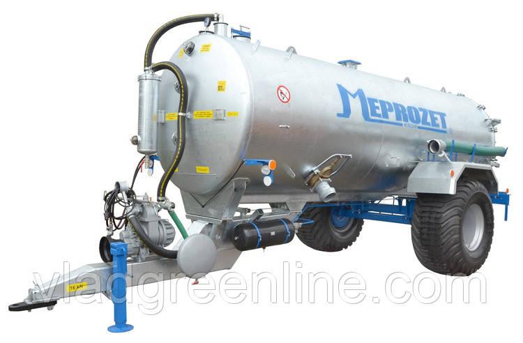 Ассенизационная машина Meprozet PN-100/2  (10705 л, оцинкованная)