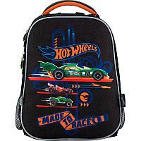 Рюкзак школьный каркасный 531 Hot Wheels, HW18-531M