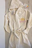 Махровый халат на девочку Valeri 140 и 152 см, фото 1
