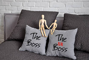 "Набор из двух подушек №74 ""The boss"""