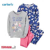 Пижама для девочки Carters, 4 года (сет из 2х компл.)