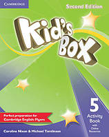 Kid's Box Second Edition 5 Activity Book with Online Resources (Рабочая тетрадь)