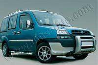 Накладки на зеркала (Abs-хром.) 2 шт. Fiat Doblo 2000-2006