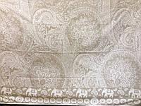 Простынь  махровая  (хлопок\лен)  208*200 Индия