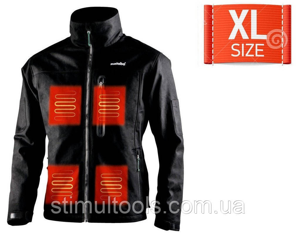 Куртка с подогревом Metabo HJA 14.4-18 (размер XL)