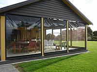 Прозрачные шторы пвх, прозрачные роллеты для беседок и веранд, фото 1