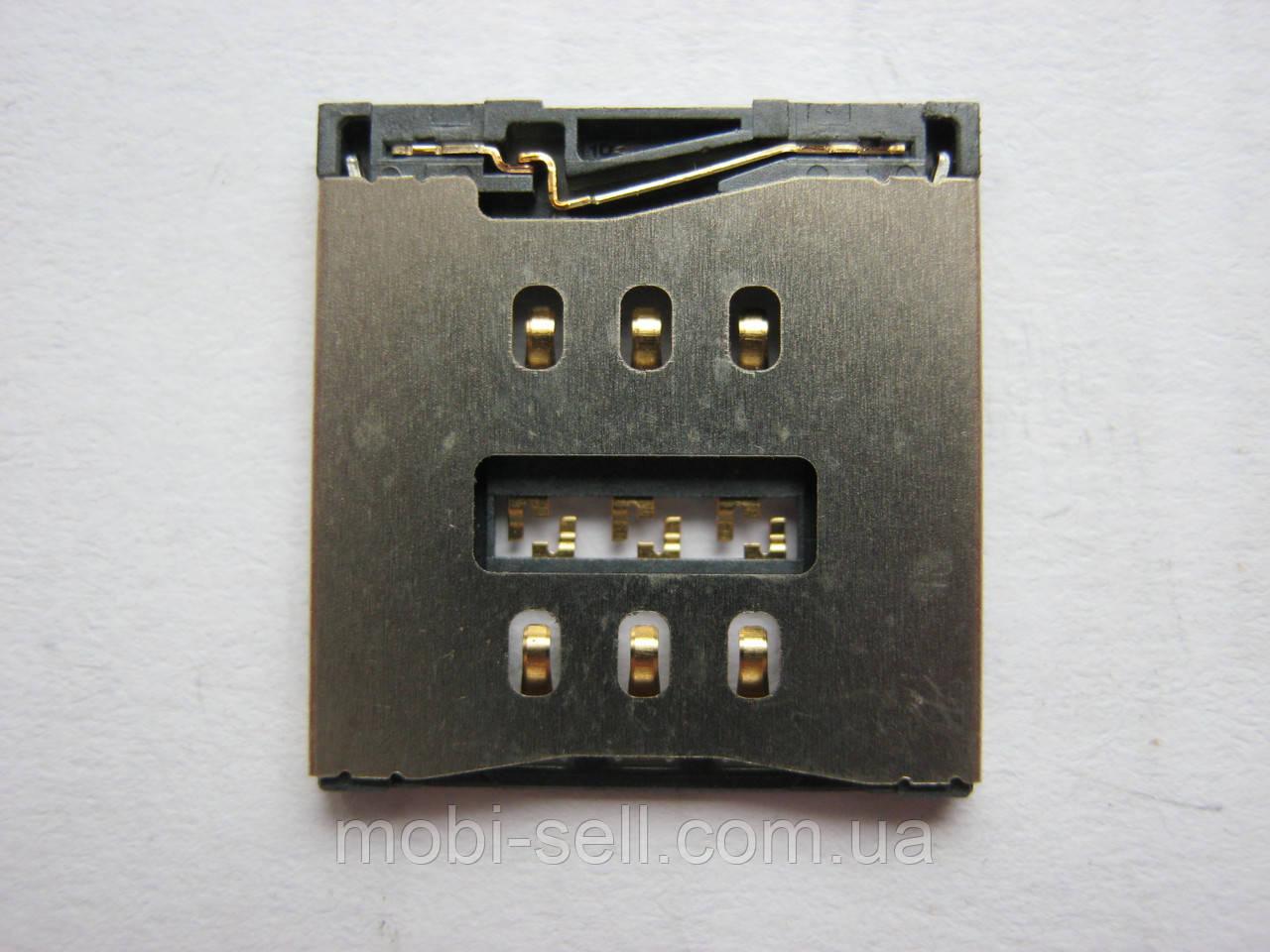 Коннектор SIM-карты для Apple iPhone 5C, iPhone 5S