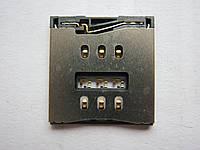 Коннектор SIM-карты для Apple iPhone 5C, iPhone 5S, фото 1