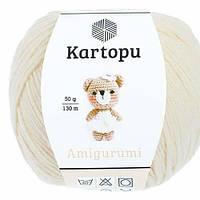 Kartopu Amigurumi - K025 молочный