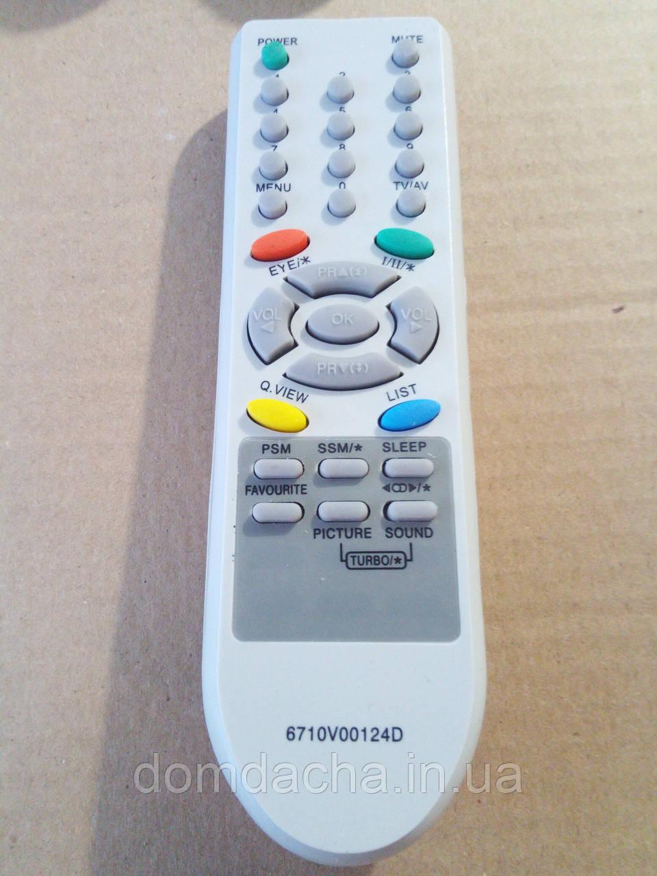Пульт для телевизоров LG 6710V00124D