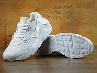 Кроссовки женские в стиле Nike Huarache KD-10831. Белые