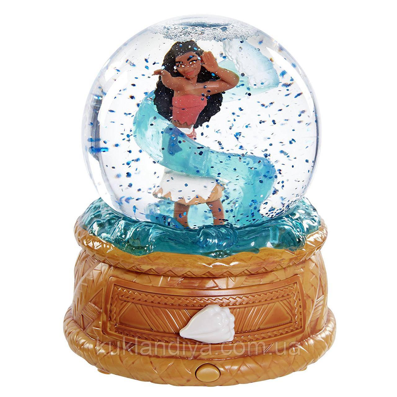 Музыкальная шкатулка-шар  с Моаной  Дисней