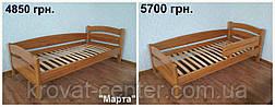 """Кровать """"Марта"""". Массив - сосна, ольха, береза, дуб., фото 2"""