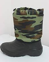 Сапоги комбинированные камуфляжные