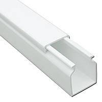 Короб 25х25мм белый пластиковый кабель-канал