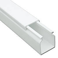 Короб пластиковый белый 40х40 мм