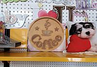 """Декоративная вывеска из дерева """"Coffee"""", фото 1"""