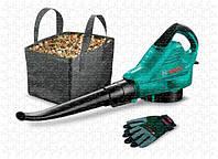 Пылесос - воздуходувка Bosch ALS 30 + Перчатки; Сумка