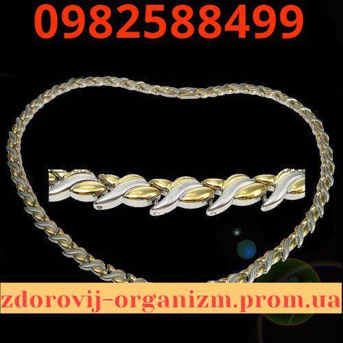 Турмалиновое магнитное ожерелье Лилия 4в1 Вековой Восток