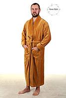 Шикарный мужской халат из натуральной махры. Размеры 46-66, фото 1
