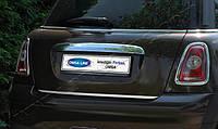 Накладка над номером на багажник MINI Cooper R56 2006- (нерж.)