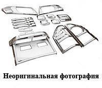 Нижняя кромка крышки багажника MINI Cooper R56 2006- (нерж.)