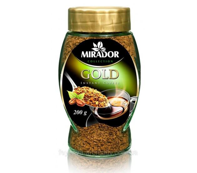 Кофе растворимый Mirador Gold, 200г