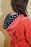 Качественный модный велюровый халатик