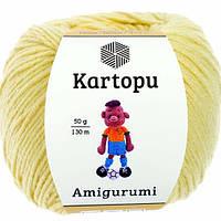 Kartopu Amigurumi - K331 св. желтый