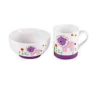 Набор детской посуды Львенок Fissman SC-9367.2