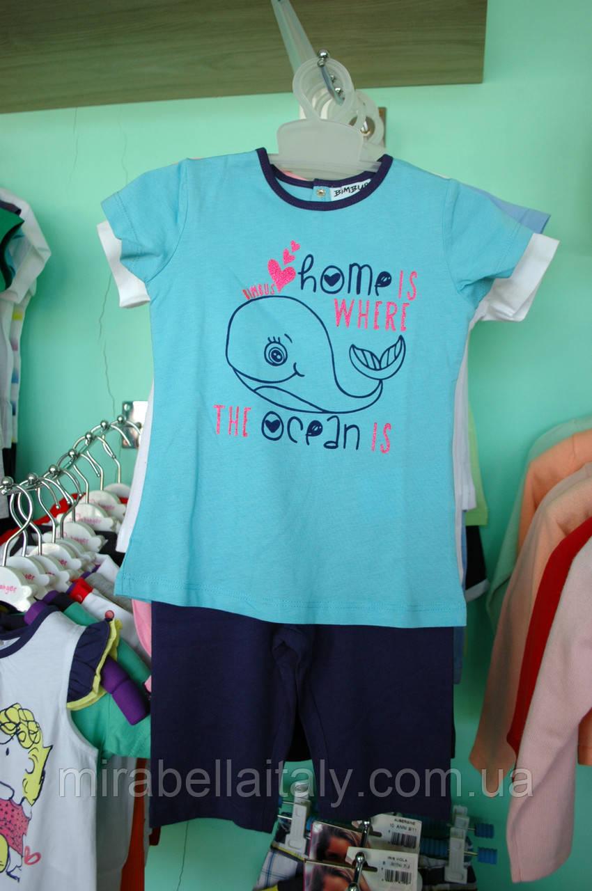 Летний костюм Bimbus для девочки