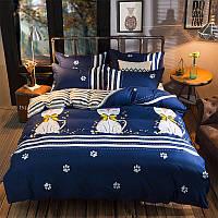 Комплект постельного белья Cats (двуспальный-евро) Berni