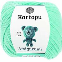 Kartopu Amigurumi - K551 бирюза