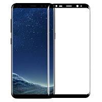 Защитное стекло с рамкой для Samsung Galaxy S8 Plus, фото 1