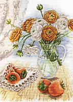 Набор для вышивания М.П. Студия НВ-597 Букет садовых лютиков