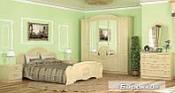 Спальня Барокко (Barokko), Комплект №1 вишня портофино