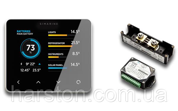 Монитор состояния батарей и танков Simarine Стандартный комплект