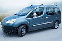 Накладки на зеркала (Abs-хром.) 2 шт. Peugeot Partner Tepee 2008-2012