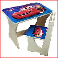 Столик для детей со стулом «Тачки», 2-5 лет
