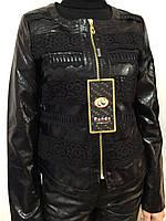 Стильная куртка женская кож зам