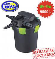 Напорный фильтр AquaNova NBPF-9000 УФ-лампа 11w с обратной промывкой.
