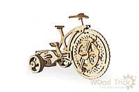 3D конструктор Wood Trick Велосипед