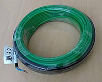 1,0-1,2 м². Кабель нагревательный двужильный ECOTERM20-200, площадь укладки 1-1,2 м²