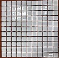 Мозаика стеклянная экстра-белая B080RW
