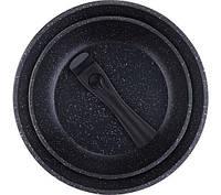 Набор сковородок со сьемной ручкой 3 пр Bergner BG-8444-MBB